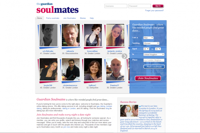guardian dating site
